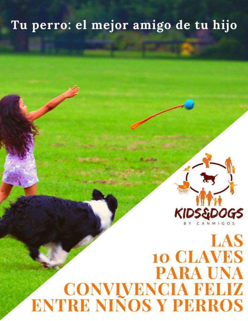 Portada Guía Las 10 Claves para una convivencia feliz entre niños y perros