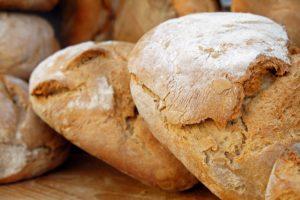 Pan hecho con masa madre